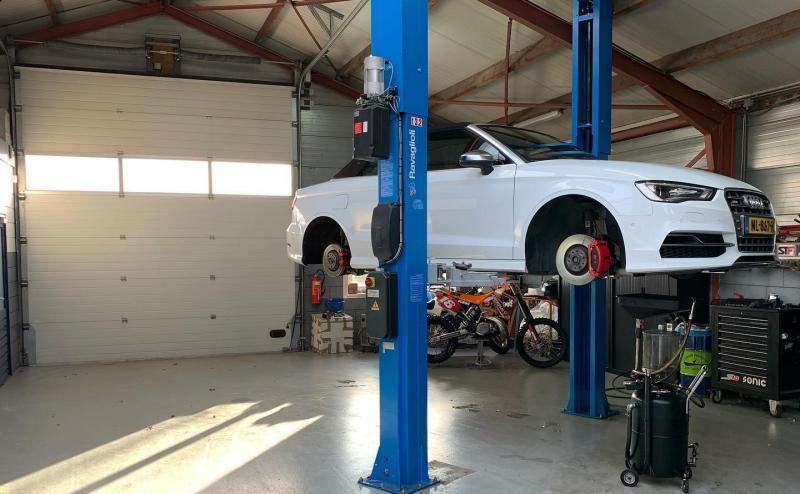 Garage westerop
