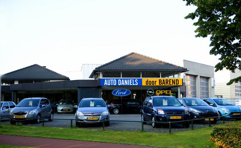 Auto Daniels door Barend